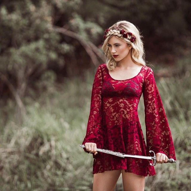 blackmilkclothing:  The beautiful Arabella Wine Dress will be available on the 10th of June as a part of our Battle of the Kings release. #b...