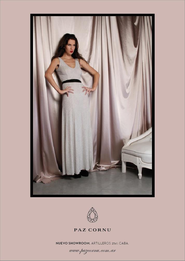 Paz Cornu ad for Catalogue Mag