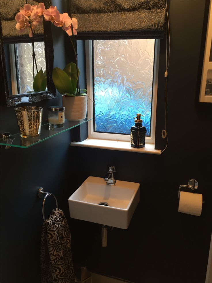 Downstairs Bathroom Painted With Farrow And Ball Hague