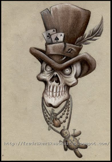 Voodoo Doll Art | Art of Fredrik Eriksson: Tattoo