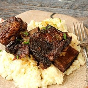 Braised Short Ribs are the Best Damn Short Ribs you'll ever have! These short ribs are cooked in red wine until falling-off-the-bone tender! (Diy Cheese Chips)