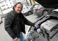 moteur à eau : Voilà désormais deux ans et demi que le Lorientais Marc Renaudin roule avec un moteur à eau de pluie. Et ce dernier ne tarit pas