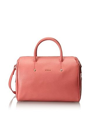 Furla Women's Alissa Leather Satchel, Verve