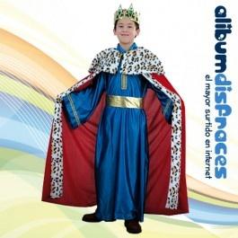 Disfraz de Rey Gaspar Lujo Azul - €16.50                                                                                                                                                                                 Más