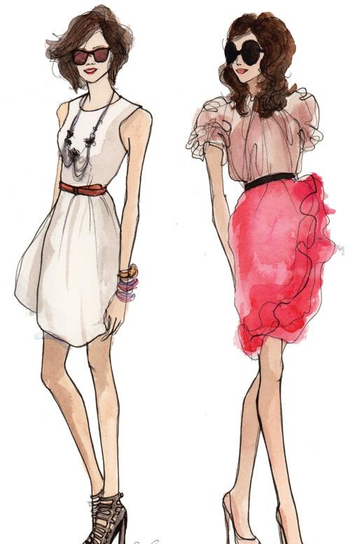 114 best images about Fashion Illustration on Pinterest | Jason wu ...