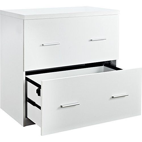 This File Cabinet is a stunning addition to any workspace. The 2 drawers can accommodate either legal or letter sized documents so you can keep all your important papers in one convenient place. The neutral White finish makes this piece a great addition to any office. The Avenue Greene Princeton... more details available at https://furniture.bestselleroutlets.com/home-office-furniture/home-office-cabinets/product-review-for-contemporary-wood-white-lateral-file-crisp-clean-des