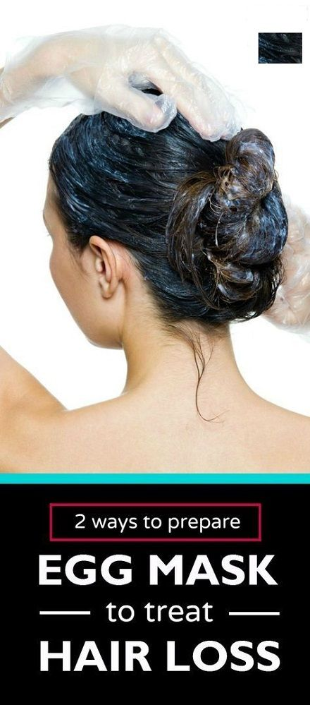 Simple Egg Mask to Treat Hair Loss Finally Hair loss in women is more common than ever before. Even though hair loss happens to every woman it can be sped up in several ways. Female hair loss can have many causes. Some of these can be the