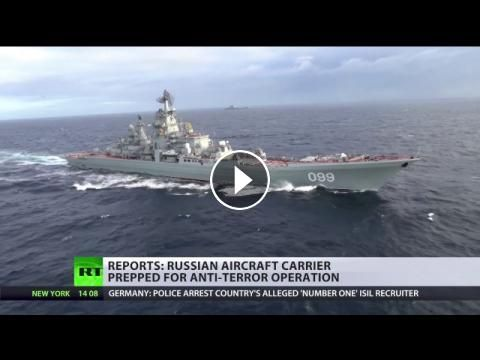 Russian naval group in the Mediterranean ready to launch strikes on militants near Aleppo - report: The Russian naval group in the…