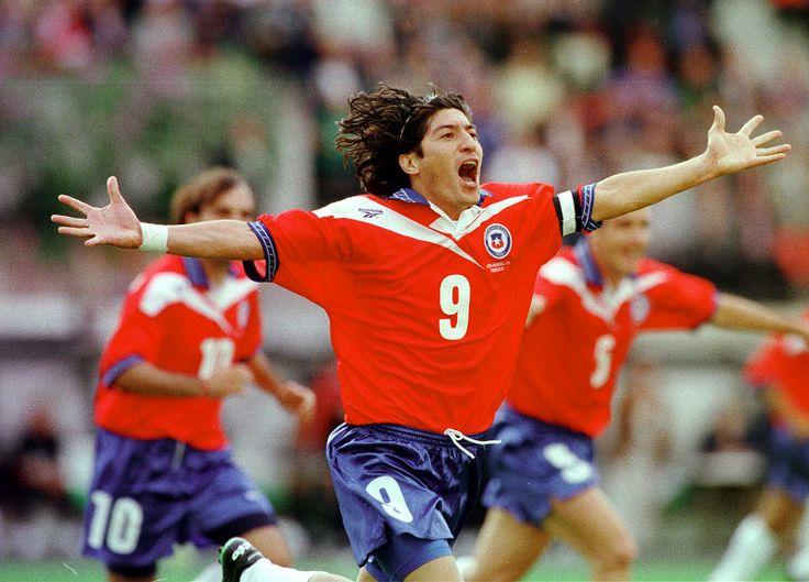 Ivan Zamorano #Chile