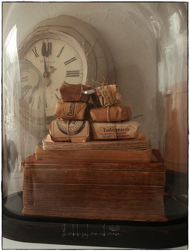 soaps under glass