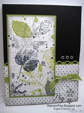French Foliage by StampinAmma - Cards and Paper Crafts at Splitcoaststampers