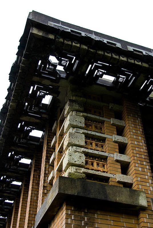 Imperial Hotel. Frank Lloyd Wright. Tokyo, Japan. 1916. (Demolished)