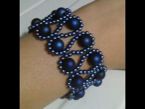 Easy bracelet ~ Seed Bead Tutorials