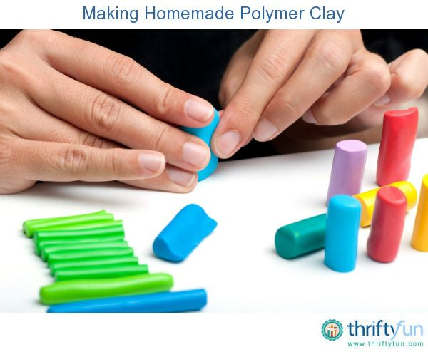This is a guide about making homemade polymer clay. You can make an inexpensive version of polymer clay from everyday household ingredients.