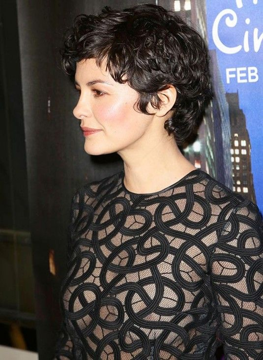 Audrey Tautou, not a bit of frizz in sight