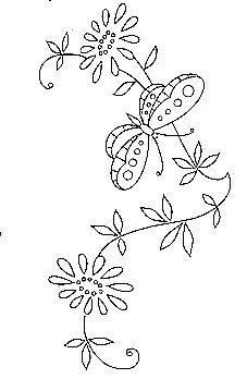 Broderie D'Antan: Embroidery Patterns (7designs)
