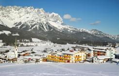 Hotel Kaiserblick in Ellmau, Austria.