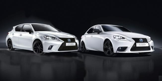 Lexus CT 200h and IS 300h Sport Editions revealed