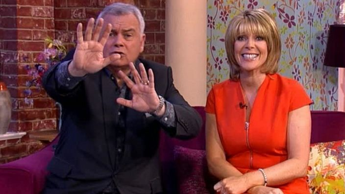 Don't look! It's Eamonn and Ruth's Best Bit