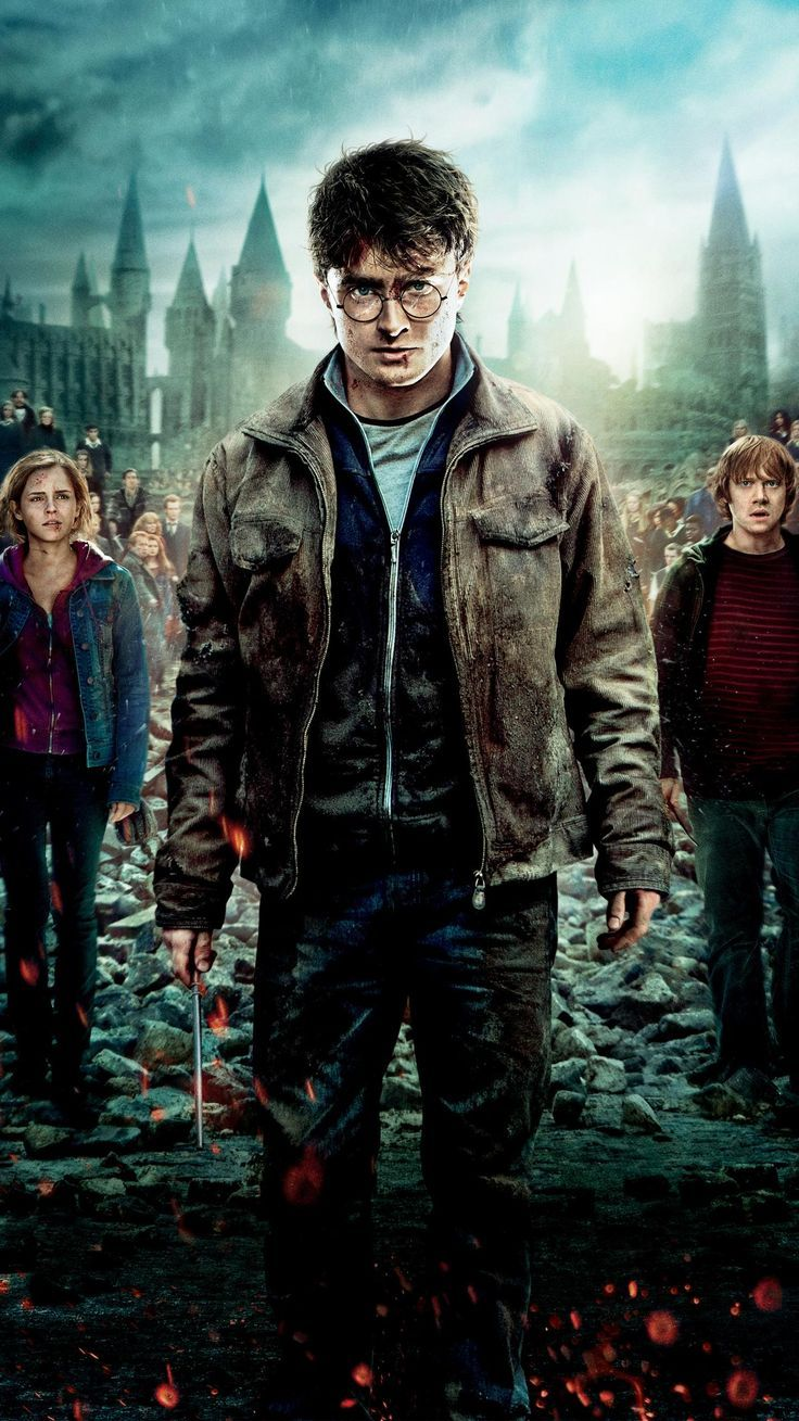 Harry Potter And The Deathly Hallows Part 2 2011 Phone Wallpaper Wallpaper For Harry Potter And T Poster De Peliculas Harry Potter Peliculas Completas