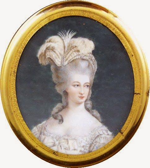 THE QUEEN - H.M. Queen Marie Antoinette of France and Navarre, née Archduchess of Austria  (1755-1793)