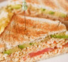 Recette - Club sandwich au Râpé de la Mer Coraya