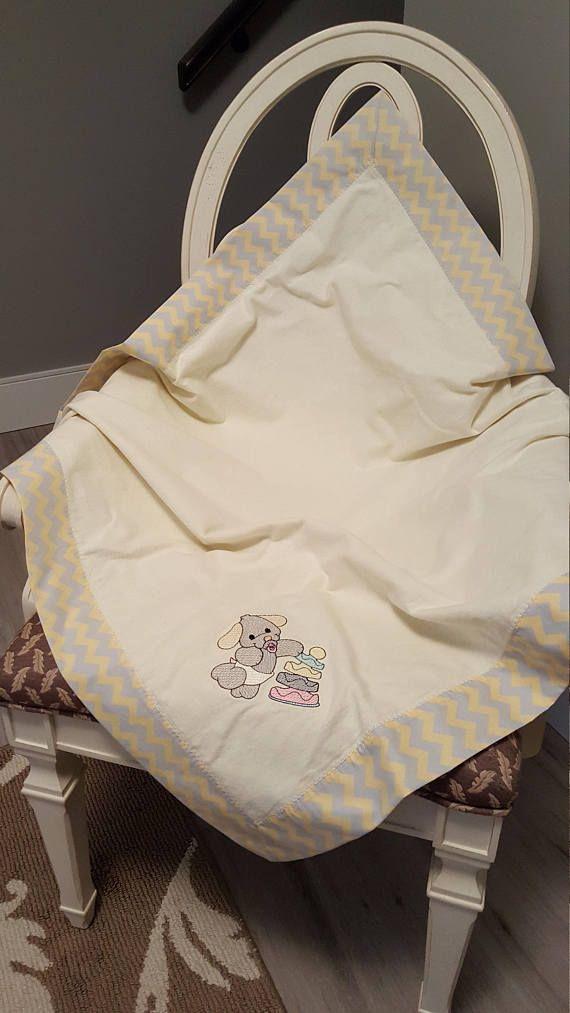Receiving Baby Blanket Puppy