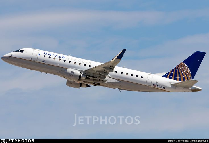 Photo of N160SY - Embraer 170-200LR - United Express (SkyWest Airlines)