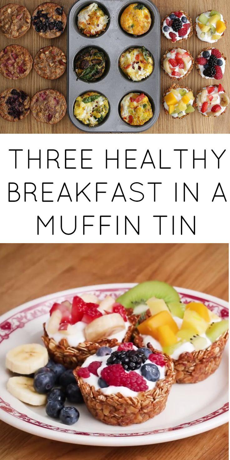 Breakfast muffins.  Careful to use gluten free oats.