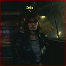"""☢ Catherine Schabeck """"Stella"""" in 1980.  She played the part of a drug dealer selling heroin to Detlef."""
