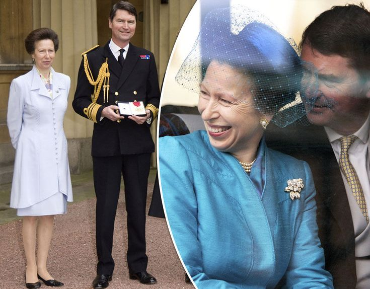 Anne, Princess Royal and Vice Admiral Sir Timothy Laurence in pictures.
