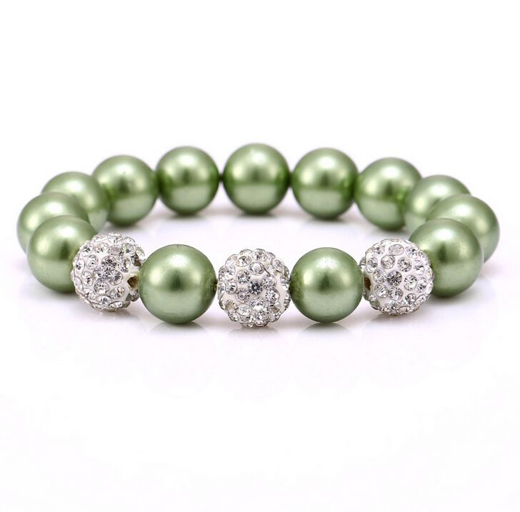 Find More Strand Bracelets Information about 2017 Zenper large hole imitation pearl crystal ball Bracelets & Bangles DIY Charm bracelets for Female Pulseras Christmas gift,High Quality bracelet roll,China bracelet fox Suppliers, Cheap bracelet solitaire from Yiwu zenper accessories crafts co.,ltd  on Aliexpress.com