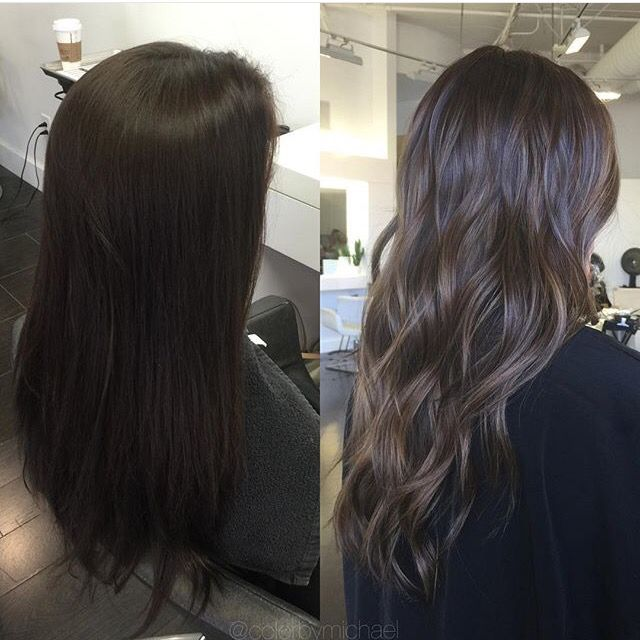 how to add dimension to long hair