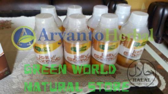 Jual beli Obat Penghancur  Kanker Prostat di Lapak Green World Aryanto Store - yanamulyana335. Menjual Produk Kesehatan Lainnya - QnC Jelly Gamat merupakan produk obat herbal yang di olah dengan bahan herbal ekstrak teripang emas dengan kombinasi bahan-bahan herbal berkualitas.  KOMPOSISI :   Ekstrak gamat emas.   Essen Natural.  Ekstrak buah dan sayur.  Pengemulsi nabati.   Air RO.  Sweetener Stevia.  Cara Pemakaian :  - Buat bayi 1 tahun keatas : 1-2 sendok per hari  - Buat Balita 1-2…