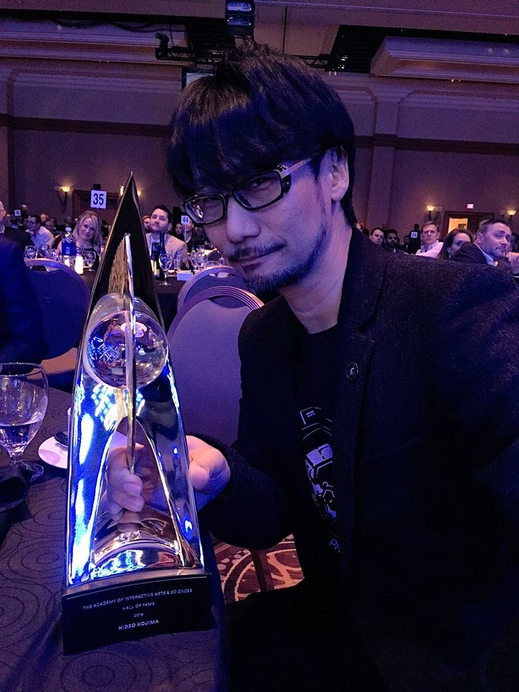 Hideo Kojima enters the Hall of Fame at 19th annual DICE Awards