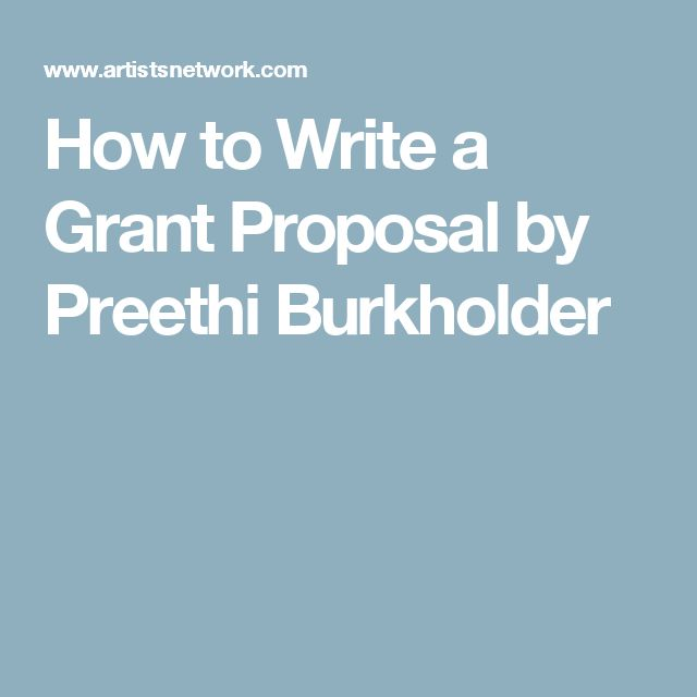 Best  Grant Proposal Ideas On   Writing A Proposal