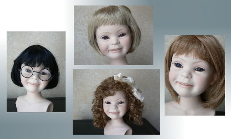 "Dolls for Downs - dolls that look like people who have downs syndrome. Neat way to allow a child with Downs Syndrome to see themselves reflected in the toys they play with! Also a cool way to promote diversity in a ""typically developing"" child's toy box."