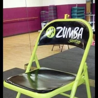 7 best spielefest images on pinterest for Chair zumba