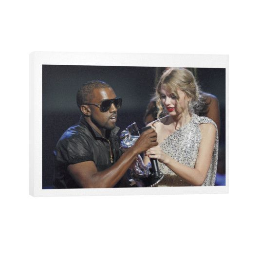 Kanye Taylor Horizontal Canvas