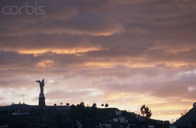 quito angel | Angel Statue Atop Quito Hill - PC003221 - Rights Managed - Stock Photo ...
