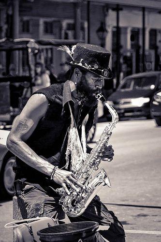 NOLA Street Musician