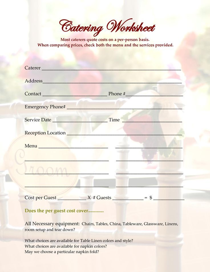 7 Best Order Forms Images On Pinterest Cake Business, Cake Order   Catering  Quote Template