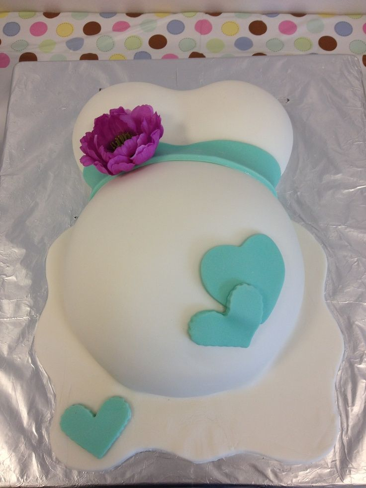 baby butt cake pans | Baby Bump Shower Cakes Picture