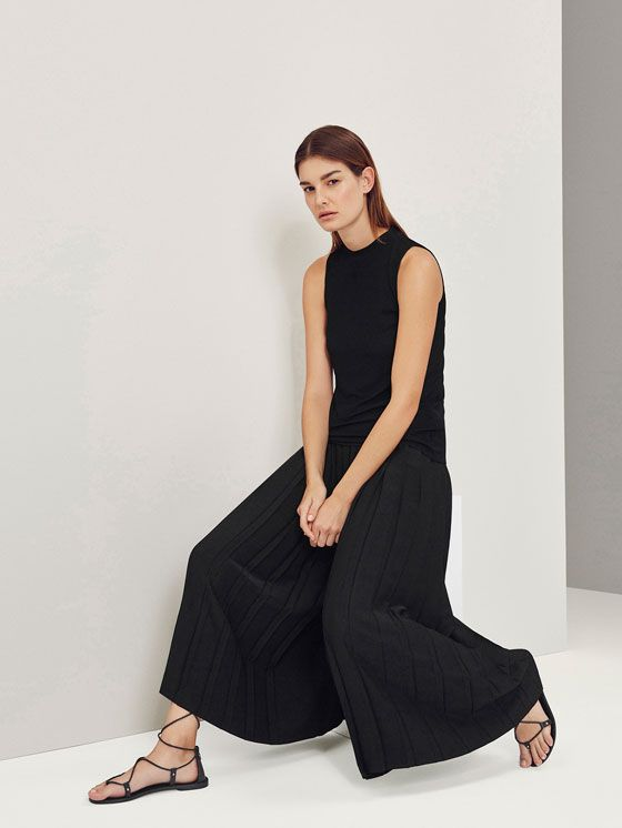 LIMITED EDITION FINE PLEATED TROUSERS