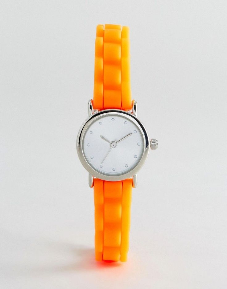 Get this New Look's watch now! Click for more details. Worldwide shipping. New Look Mini Neon Silicone Watch - Orange: Watch by New Look, Neon silicone strap, Stainless steel case, Three hand movement, Dash indices, Single crown to side, Pin buckle fastening. Transforming the coolest looks straight from the catwalk into wardrobe staples, New Look joins the ASOS round up of great British high street brands. Get it or regret it with its weekly drops of essential coats, statement partywear and…