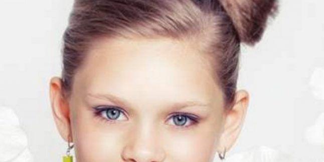 Kız Çocukları İçin 2017 Sevimli Saç Modelleri