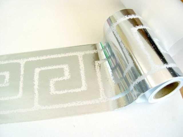 Bordure Selbstklebend 10cmx5m Metallics Silber Transparent 60173 1 Bordure Badezimmer Silber Baden