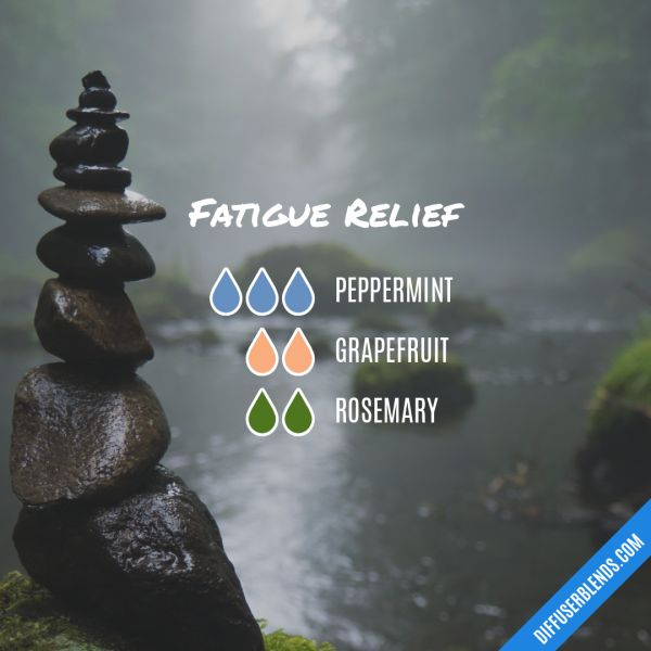 Fatigue Relief - Essential Oil Diffuser Blend