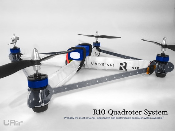 R10 Quadrotor- powerful, inexpensive, and customizable. by Max Bruner — Kickstarter