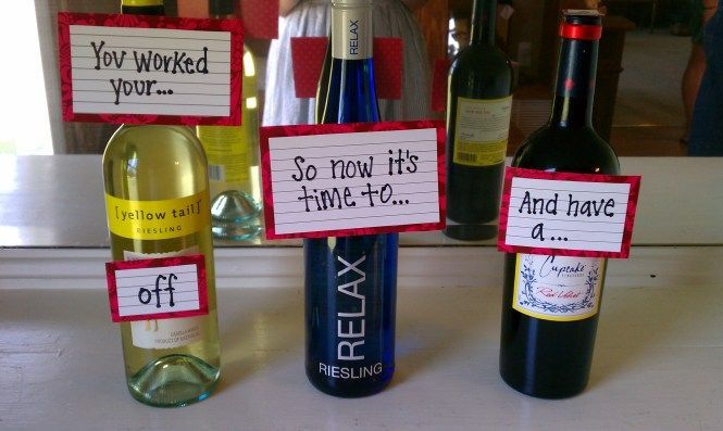 Great idea for a Graduation gift (for   college grads, I might add!)